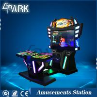 China Good review 3D Monitor Coin Operated Arcade Machines For Entertament HD LCD screen children game machine on sale