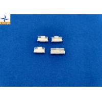 China Wire to board connectors pitch 1.00mm with lock PA66 CI16 wire housing on sale