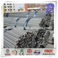 China Good quality HRB400 HRB 500 steel rebar/ steel deformed bar/iron rods for construction in stock on sale