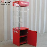 Quality Floor Standing Led Lighted Acrylic Display Case For Electronic Products Advertising for sale