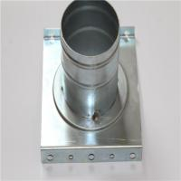Quality Machining Center Galvanized Sheet Metal Fabrication Parts Zinc Coating Finished for sale