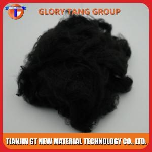 Quality 3Dx51mm Black Polyester Staple Fiber for sale