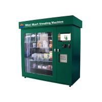 Quality High Capacity Network Vending Machine , Banknote Acceptor and Credit Card Reader for sale