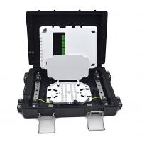 Quality Outdoor Spliter Fiber Optic Junction Box FTTH 8 Core Aerial ABS Material IP67 for sale
