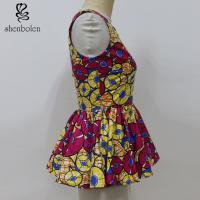 890ab00a1a367b ... Buy OEM Service Women African Print Blazer Tank Tops Deep V Neck  Sleeveless at wholesale prices ...