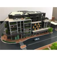 Quality 3D Modern House Model , Miniature Architectural Models With Led Light for sale