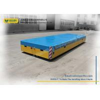 Quality Steel Mill Battery Transfer Cart Remote Control Transfer Table For Assembly Line for sale