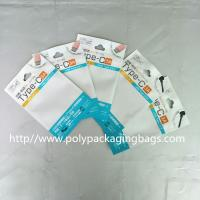 Quality Color Clip Chain Packaging Poly Bags 10.5 * 15 for Noodle Line / USB / Car Charger for sale
