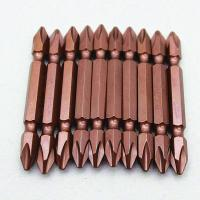 Quality 65mm High quality S2 double end  PH2 screwdriver bit for sale