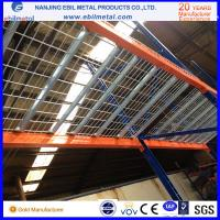 Quality Stainless steel Wire Mesh Decking / Pallet Racking Accessory Galvanized Wire Decking for sale