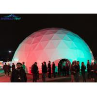 Commercial 360 Projection Geodesic Dome Shelter 25m For Big Cinema