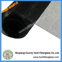 Quality PVC coated 1m x 30m roll Insect proof black color 18x16 Fiberglass Insect Screen Mesh Roll for sale