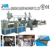 Quality high impact resistance pmma sheet extrusion machine for sale
