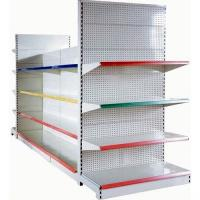 Quality 4 Layer Double-Sided Supermarket Shelving With Double-Sided ,1200 X 1200 X 1800mm for sale