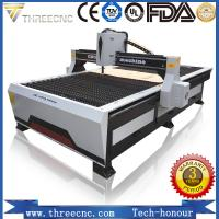 Quality plasma cutting machine price TP1325-125A with Hypertherm plasma power supplier. THREECNC for sale