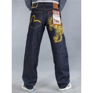 China Wholesale evisu jeans for men on sale