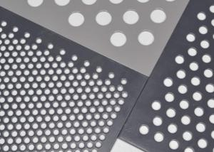 Quality Anti Skid Decorative Perforated Aluminum Sheet for sale