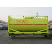 Quality International Carbon Steel 20 Foot Tank Container For Oil Transport Or Storage for sale