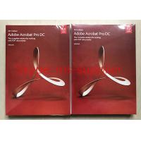 Quality Adobe Acrobat Pro DC For PDF Graphic Design Software Original DVD With Retail Box for sale