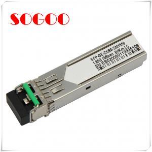 China 1000BASE-T Single Mode SFP Optical Transceiver GLC-T For Cisco on sale