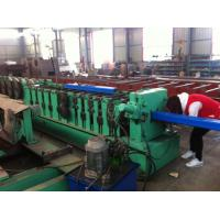Quality 8 - 10 m / min Square Downspout Roll Forming Machine Fly Saw Cutting Type for sale