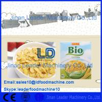 Quality Breakfast Corn flakes cereals machine,300-400kg/h for sale