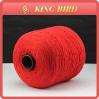 China Red Closing Bags Spun Polyester Sewing Thread / Industrial Sewing Thread on sale