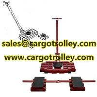 Quality Steerable machinery skates details with price list for sale