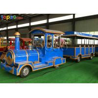 Quality 40 Seats Trackless Train Ride Diesel  Theme Park Sightseeing Train Ride for sale