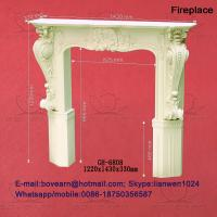 Quality PU wall niches and fireplace for sale