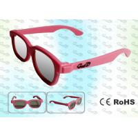 Quality REALD Cinema Colorful kids Circular polarized 3D glasses for sale