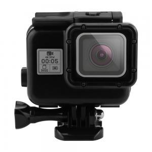 Quality Go Pro Hero5 Accessories Dark Waterproof Housing With Bracket For GoPro Hero 5 for sale
