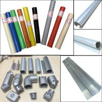 Quality Lean pipe assemble pipe rack PE coated pipe and auminum pipe and joint System for sale