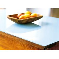 China High Quality Safety Tempered Milk White Glass Table Top - Wholesale table tops
