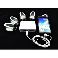 Quality COMER Universal multiports security alarm usb hub mobile phone holder and charger for sale