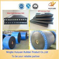 Quality Steel Cord Conveyor Belt with a better flexibility than fabric core conveyor belt for sale