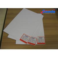 Quality Flat Solvent Printing PVC Foam Board Sheets for Signage / Store Displays / POP for sale