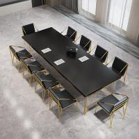 China Customized Melamine Rectangle Office Conference Table For 10 People on sale