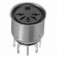 Quality DIN Socket (Metal Cover Type) with Contact Resistance of 20mΩ Maximum for sale