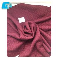 Factory Supply 97%Polyester 3%Spandex Jacquard Knitting Fabric For Garment And Dress