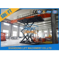 Quality 3T 5M Hydraulic Car Lift Scissor Car Parking Lift with CE for sale