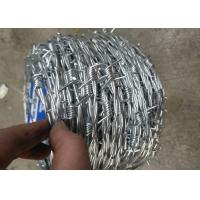 Hot Dipped Galvanized Barbed Wire With 12 Gauge * 14 Gauge Wire of