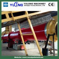 Quality Wood chips , Wood shavings Rotary Drum Dryer with 12 months Warranty for sale