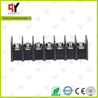 Quality 8.0kg Torque Barrier Terminal Block HQ25CB-7.62 2P - 24P Pole 7.62mm Spacing for sale