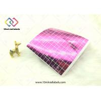 China Laser Reflective Color Hologram Security Stickers Rectangle Shape on sale
