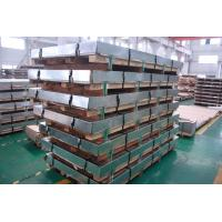 China 5MM DIN EN 304 Stainless Steel Sheets 4x8 , Customized Rolling Steel Kick Plate SGS on sale