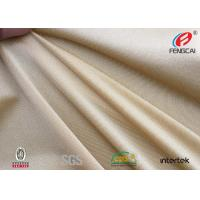 Quality UPF 50 Polyester Spandex Fabric  Moisture Wicking Material 200gsm Eco Friendly for sale