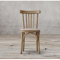Buy cheap Cafe Bistro Side Metal Wood Dining Chairs , Oak / Birch / Rubber dining wooden chair from Wholesalers