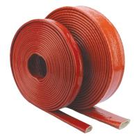 Buy Flame Heat Shield Fire proof fiberglass sleeving for hydraulic pipe protection at wholesale prices