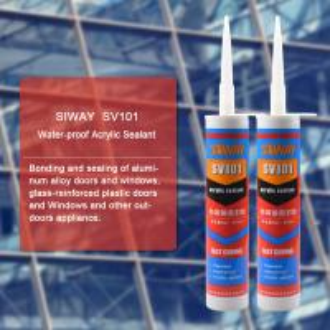China SV-101 General Purpose Acrylic Construction Adhesive Sealant Waterproof Liquid Glue Type on sale
